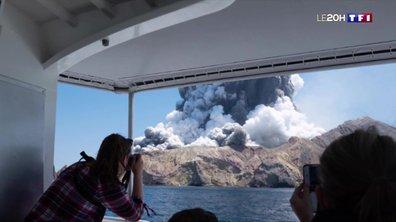 Nouvelle-Zélande : au moins cinq morts et une trentaine de blessés dans l'éruption d'un volcan