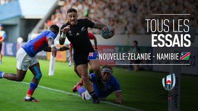 Nouvelle-Zélande - Namibie : Voir tous les essais du match en vidéo