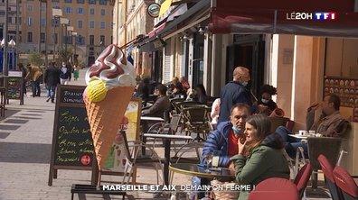 Nouvelles mesures : fermeture des bars et restaurants ce lundi à Marseille et Aix