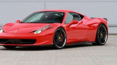Vidéo : Ferrari 458 Italia par Novitec Rosso