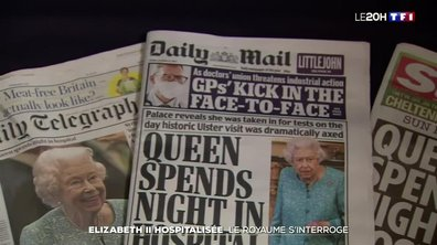 Nuit d'hospitalisation de la reine Elizabeth II : vive inquiétude au Royaume-Uni