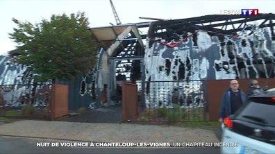 Nuit de violence à Chanteloup-les-Vignes : un chapiteau incendié et des policiers pris pour cible