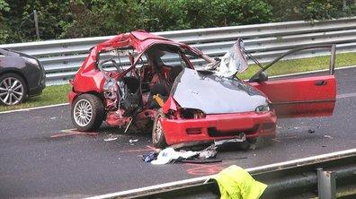 Deux français trouvent la mort sur le Nürburgring, en Honda Civic
