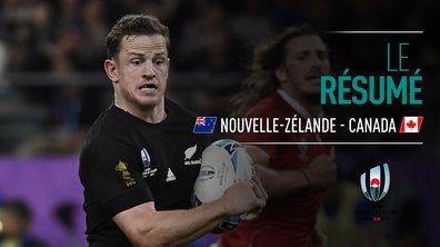 Nouvelle-Zélande - Canada : Voir le résumé du match en vidéo