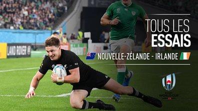 Nouvelle-Zélande - Irlande : Voir tous les essais du match en vidéo