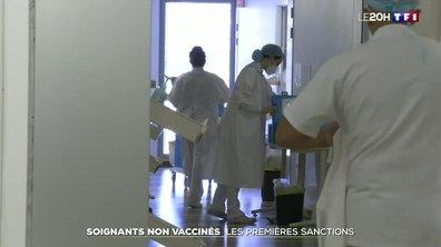 Obligation vaccinale : les soignants à l'heure des sanctions
