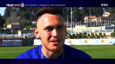 """[EXCLU Téléfoot 3/03] – Ocampos sur son rôle à l'OM : """"Les Marseillais aiment les mecs qui mouillent le maillot"""""""