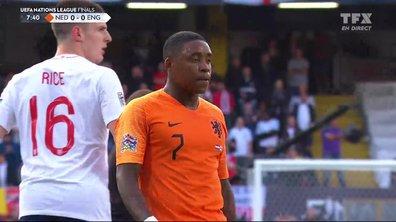 Pays-Bas - Angleterre (0 - 0) : Voir la frappe de Bergwijn en vidéo