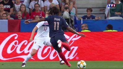 France - Norvège (0 - 0) : Voir l'occasion de Diani en vidéo