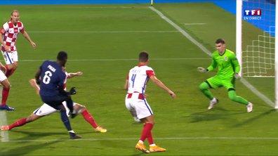 Croatie - France (1 - 2) : Voir l'occasion de Pogba en vidéo