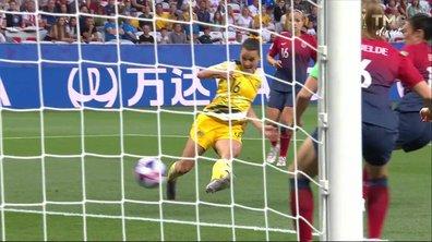 Norvège - Australie (0 - 0) : Voir l'occasion de Raso en vidéo