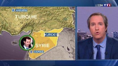 Offensive turque en Syrie : les Kurdes appellent Damas à leur venir en aide