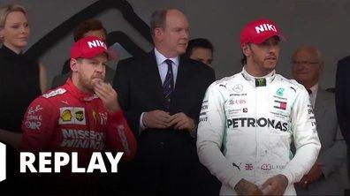 Le podium du Grand Prix de Monaco
