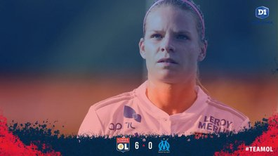 D1 féminine : Lyon écrabouille Marseille 6-0