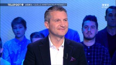 [Exclu Téléfoot 25/02] – Olivier Létang, président du Stade Rennais : « On serait ravis de finir 5e »
