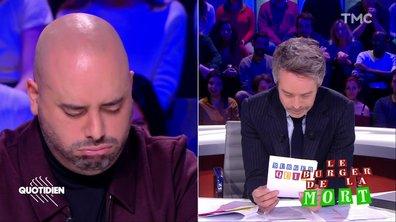 On a testé Jérôme Commandeur au Burger de la mort