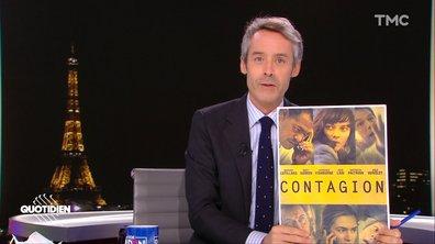 On sait quand l'épidémie va se terminer grâce au film Contagion