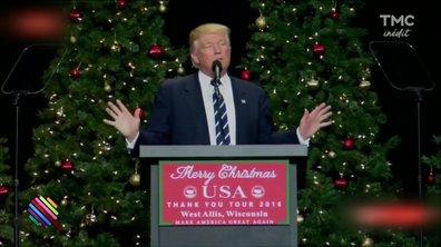 """""""On va tous les laminer"""", le message de Trump pour Noël"""