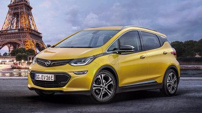 Mondial de l'Auto 2016 : l'Opel Ampera-e électrisera le salon