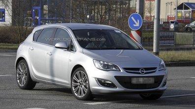 Opel Astra 2012 : voici le restylage en photos scoop !