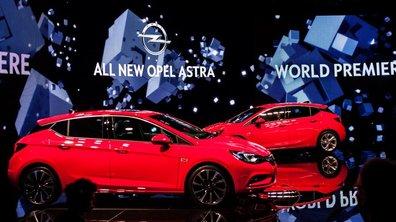 Salon de Francfort 2015: Opel Astra, une cinquième tout en douceur