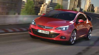 Opel Astra GTC : premières photos et présentation le 7 juin