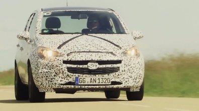 Future Opel Corsa 2014 : présentation officielle sous camouflage