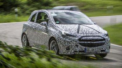 Opel Corsa 2014 : premières photos et vidéo... sous camouflage