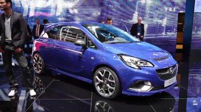 L'Opel Corsa OPC au Salon de Genève 2015
