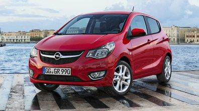 Nouvelle Opel Karl 2015 : Toutes les photos et infos sur la citadine teutonne
