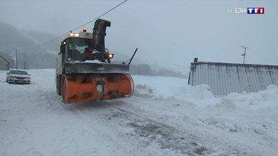 Opération déneigement sur les routes du Puy-de-Dôme