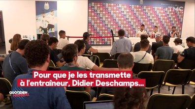 On a tenté d'espionner les Argentins avant le match contre la France