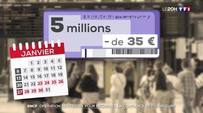 Opération petits prix à la SNCF pour regagner la confiance des voyageurs