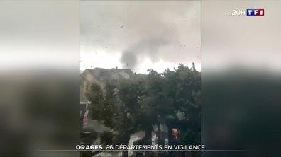 Alerte aux orages : l'est de la France frappé par de violentes intempéries
