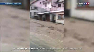 Orages : des coulées de boue géantes dans plusieurs villes du Haut-Rhin
