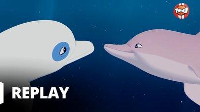 Oum le dauphin blanc - La légende du dauphin rose