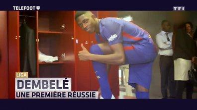 [EXCLU Téléfoot 10/09] - Dembélé, le nouvel enchanteur du Barça
