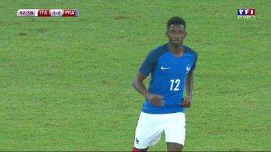 Italie-France : A 19 ans, Ousmane Dembélé honore sa première sélection avec les Bleus