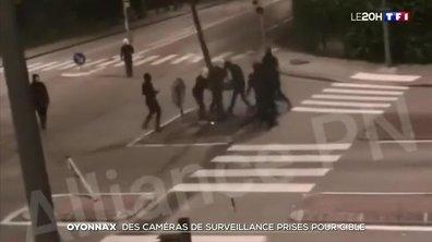 Oyonnax : des caméras de surveillance prises pour cible