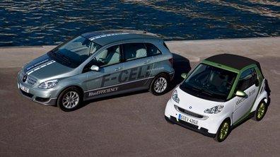 Mercedes accélère sur l'électrique