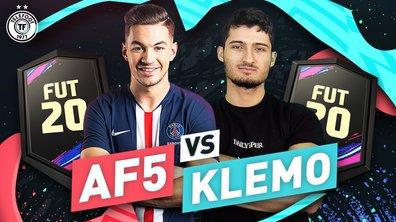 AF5 VS KLEMO : QUI AURA LE MEILLEUR JOUEUR ?! (12000 pts Fifa)