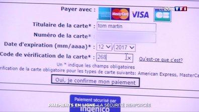 Paiements en ligne : la sécurité renforcée