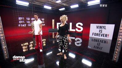 Répétitions – Pamela Anderson et Maxime Dereymez en canard !