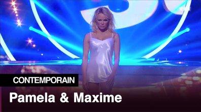 Pamela Anderson et Maxime Dereymez l Pull marine l Contemporain