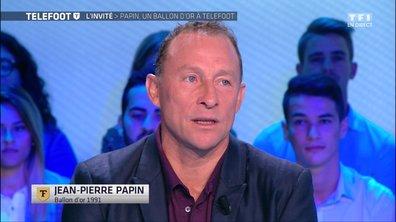 """[EXCLU Téléfoot 10/09] - Papin : """"Le joueur le plus professionnel que j'ai connu est Paolo Maldini"""""""