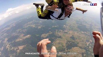 Parachute : prêts pour le grand frisson !