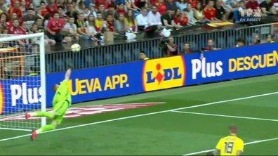 Espagne - Suède (0 - 0) : Voir le festival d'Olsen en vidéo