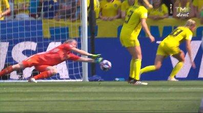 Angleterre - Suède (0 - 1) : Voir l'occasion de Bronze en vidéo