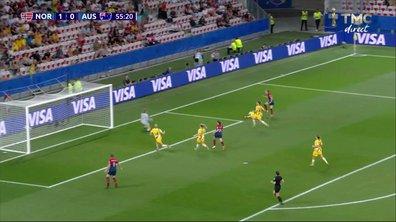 Norvège - Australie (1 - 0) : Voir la parade de Williams en vidéo