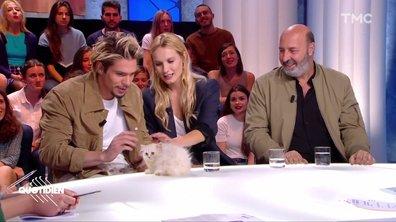 Il paraît que François Civil est super doué avec les chats, on a vérifié (et c'était pas super concluant)